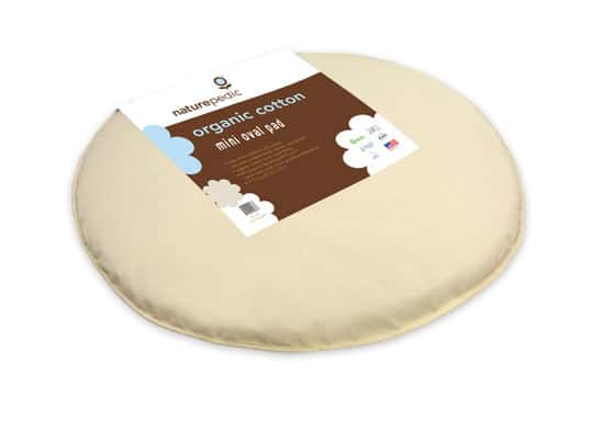 organic oval innature mattress bassinet product wool