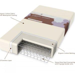 Organic Cotton Waterproof Mattress Pad