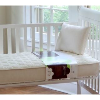 naturepedic quilted organic cotton deluxe 252 crib mattress