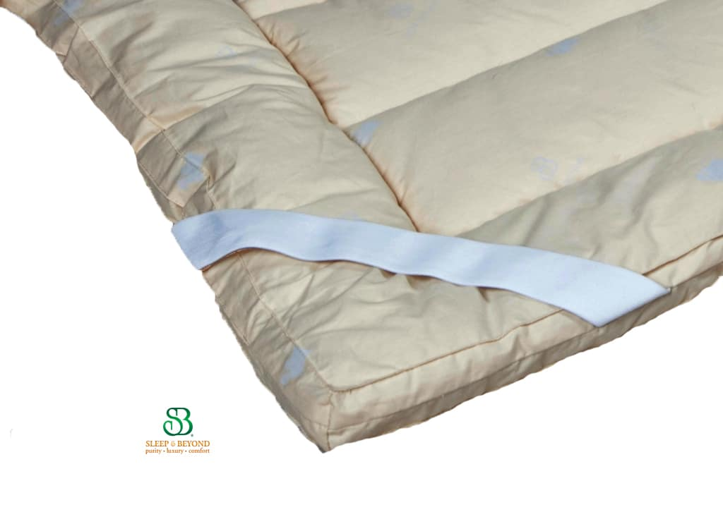 Natural Washable Wool Mattress Topper Healthy Child