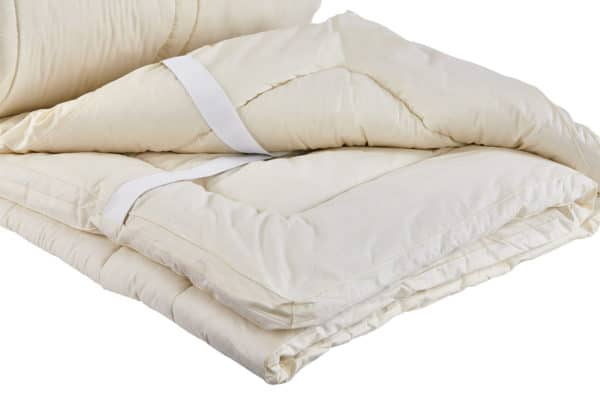 Sleep and Beyond Washable Wool Mattress Pad
