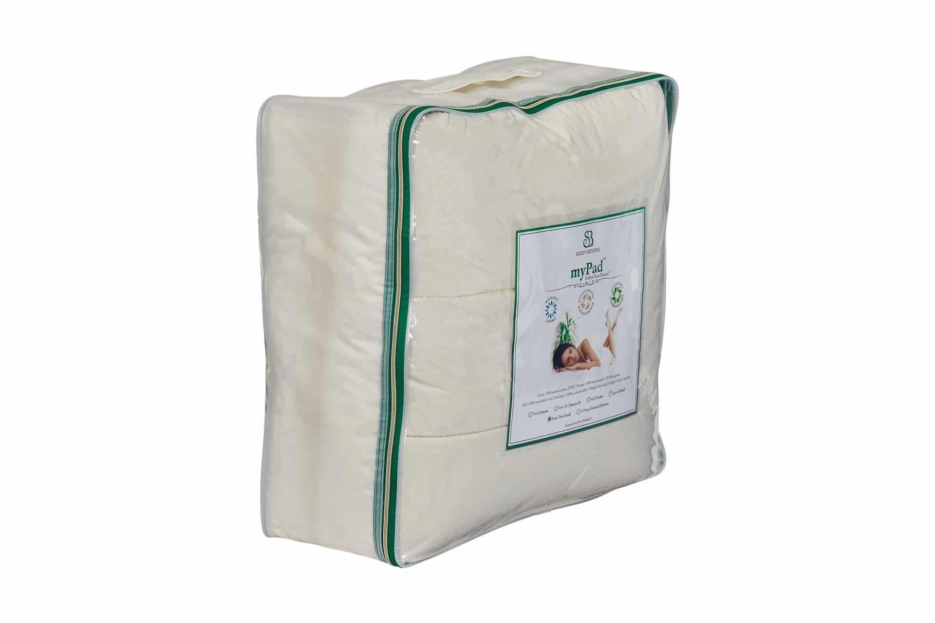 Washable Wool Mattress Pad Healthy Child
