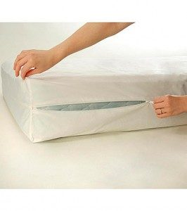 bed zipper s dust cover mites allergens plastic full waterproof itm mattress is bug size image loading