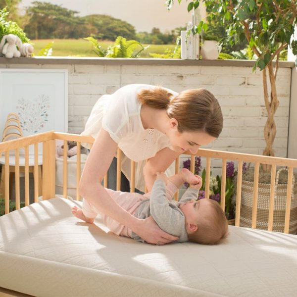 Naturepedic Breathable Ultra 2-Stage Organic Baby Crib Mattress
