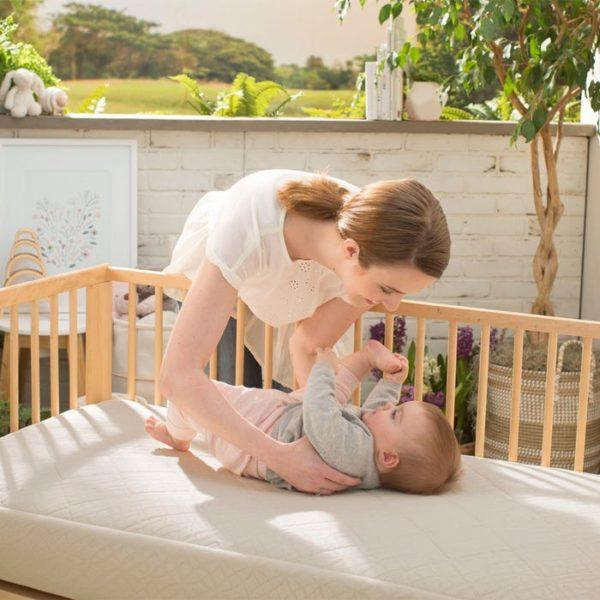 Naturepedic Breathable Ultra 2-Stage Organic Baby Crib Mattress
