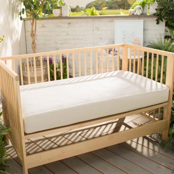 Naturepedic Organic Breathable Ultra 2-Stage Baby Crib Mattress