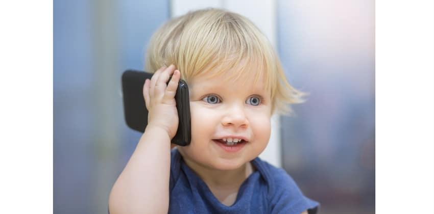 EMF protection for a child