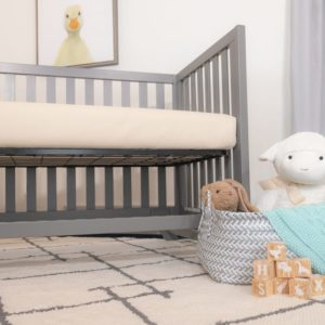 Naturepedic Organic Breathable 2-Stage Baby Crib Mattress