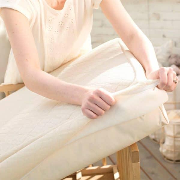 Naturepedic Breathable Ultra Crib Protector Pad